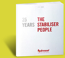 25 Jahre – HYDROSOL THE STABILISER PEOPLE